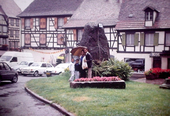Our Visit to Switzerland in 1988 - Brennen Family